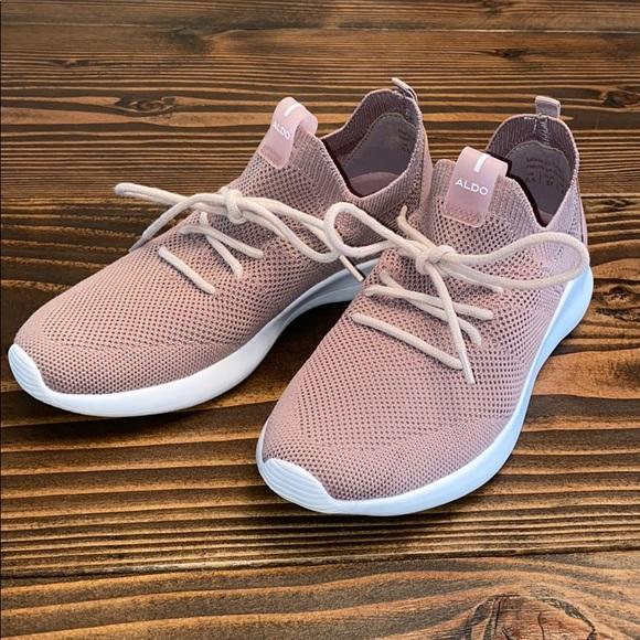 Aldo Shoes   Aldo Pink Trainers   Poshmark